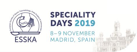 ESSKA Speciality Days 2019