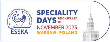 ESSKA Speciality Days 2021